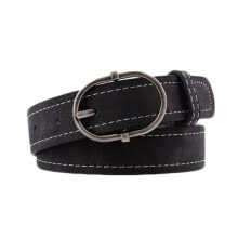 belts-Wild Belt  For Women Casual Long Section Word Buckle Imitation Leather Fashion Belt Women! on JD