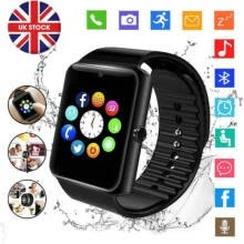 -Bluetooth Smart Watch SIM Card for kids tracker kids phone watch with camera UK on JD