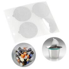 -Greensen Food Grade Aluminium Film Reusable Coffee Capsules Aluminum Adhesive Lids 3.7cm Tea Foil Lids on JD