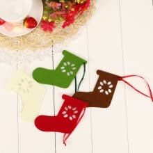 -〖Follure〗10PC Christmas Small Socks Ornament Hanging Pendant Embellishment on JD