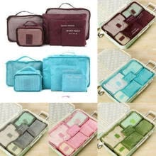 sim-tool-suits-6pcs Travel Organizer Bag Clothes Pouch Portable Storage Case Luggage Suitcase& on JD