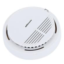-Wireless Fire Smoke Sensor Detector Alarm Tester Home  System Cordless X5P7 on JD