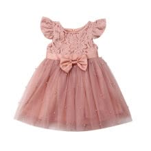 -Toddler Baby Girls Flower Dress Princess Party Pageant Dresses Tulle Tutu Skirt Kids Clothes on JD
