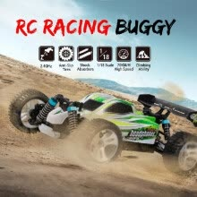 -WLtoys A959-A RC Car 2.4G 1/18 4WD 35KM/h Racing Buggy Car High Speed Vehicle Off Road Truck  RTR on JD
