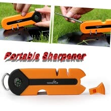 -〖Follure〗Portable Multi-function Professional Survival Knives Sharpener Kitchen outdoor on JD
