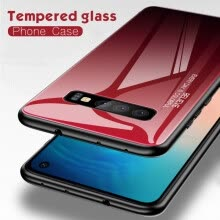 -Tempered Glass Phone Case Gradient Color Cover Coque For Samsung Galaxy A50 A70 A10 A7 S10 NOTE 7 on JD