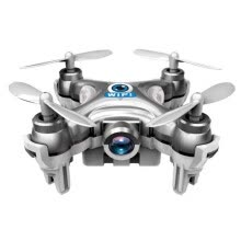 -Cheerson CX-10W Mini Wifi FPV With Camera 2.4G 4CH 6 Axis LED RC Quadcopter SL on JD