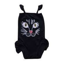 -1-6T Summer Hot Sale Baby Girls Swimsuit Infant Kids Siamese Skirts Cat Cute Cartoon Bodysuit Children Newly Fashion Jumpsuit on JD