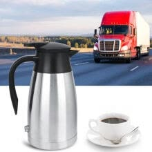 electric-kettles-Greensen 12V / 24V 1000ml Car Truck Electric Heated Hot Water Kettle Bottle Hot Water Cup  on JD