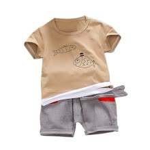 -Infant Clothing Boys Shorts and T shirt Top Baby Boys Summer Clothes Set Printed Cotton on JD