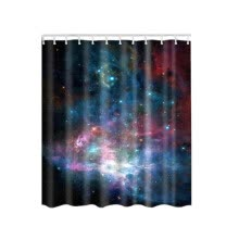-Sky Shower Curtain Surf Waves Decor by Star Hat  Picture For Print  Polyester Fabric Bathroom Set With Hooks Shower Curtain on JD