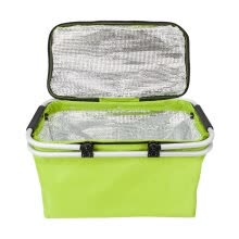 -Outdoor Folding Waterproof Picnic Ice Bag Green on JD