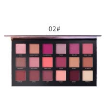-18 Colors Women Eyeshadow Palette Shimmers Eye Make Up Natural Smoky Cosmetics on JD