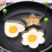 cookware-Stainless steel form for frying eggs tools omelette mould device egg pancake ring egg shaped kitchen appliances Omelette tool on JD