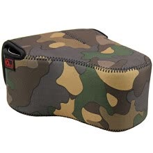 -JJC OC-MC3 camouflage thick diving material camera bag liner package SLR camera dedicated on JD