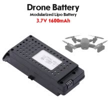 -Аккумулятор Lipo 3.7V 1600mAh Модульная батарея Drone для SG700-D RC Drone Wifi FPV Quadcopter on JD
