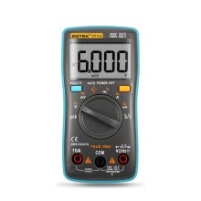 87502-Auto Digital Multimeter 6000 Counts Backlight AC/DC Transform Ohm Ammeter Resistance Capacitance Temperature Tester Meter ZT102 on JD