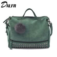 -DALFR PU Leather Bags for Women Solid Fashion Luxury Handbags Women Bags Designer Top-Handle Messenger Bags  Famous Brands on JD
