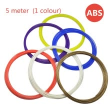 printers-ABS consumable filament 3D printer consumptive material 5 meter ABS material (1 colour) on JD
