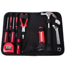 tool-organizers-WORKPRO W1210 portable kit 10 tools on JD
