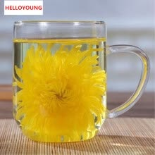 -C-TS033 the best gold Huang Ju 4 pieces chrysanthemum a large cup of organic herbal tea in summer will preferred on JD