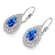 63d0ae244 Yoursfs® Sapphire Leverback Earrings