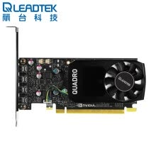 -LEADTEK Quadro P1000 4GB GDDR5 / 128bit / 82GBps CUDA Core 640 Pascal GPU Architecture / Modeling Rendering Graphics Professional Graphics on JD