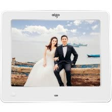 875072536-Patriot (aigo) digital photo frame DPF83 8-inch HD electronic album body sensor support video and music SD card / U disk in-line gift of choice bright white on JD