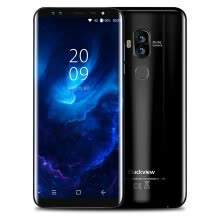 -Blackview S8 4G 5.7 inch Android 7.0 MTK6750T 1.5GHz Octa Core 4GB RAM 64GB ROM 8.0MP + 0.3MP Dual Front Cameras Touch Sen on JD