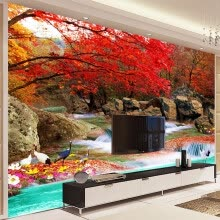 -Custom 3D Photo Wallpaper Living Room TV Backdrop Natural Landscape Wall Painting Modern Art Wallpaper Mural Papel De Parede 3D on JD