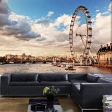 8750202-Photo wallpaper London 3D large wall painting living room bedroom sofa TV background wallpaper restaurant lounge bar mural on JD