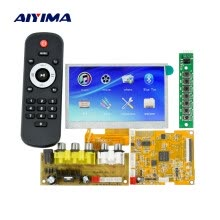 power-amplifiers-Aiyima LCD Lossless Bluetooth Decoder Board DC5V DTS FLAC APE AC3 WAV MP3 Decoder Board Decode Board on JD