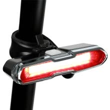 -FTW USB Rechargeable Bicycle light bike tail rear back light 4 mode Waterproof for Night Cycling safety LED Lamp Reflector Warning on JD