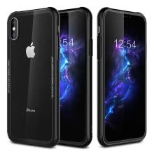 -iPhone X 7 8 Plus Tempered Glass Crystal Clear Case on JD