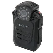-Philips (PHILIPS) VTR8200 law enforcement forensics portable audio and video law enforcement recorder 1296P high-definition infrared wide-angle night vision camera recording camera machine on JD