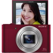 -Sony (SONY) DSC-WX350 digital camera black (18.2 million effective pixels 20 times optical zoom 25mm wide-angle Wi-Fi remote shooting) on JD