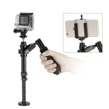 film-studio-equipment-YELANGU s100 26-32cm Maximum Burden 0.5kg Handheld Stabilizer Steadicam Solo for GoPro, Camera, iPhone, Galaxy, other Smart Phone on JD