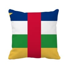 -Central African Republic National Flag Africa Country Square Throw Pillow Insert Cushion Cover Home Sofa Decor Gift on JD