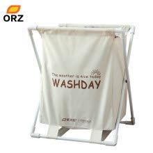 8750212-ORZ Foldable Laundry Hamper Basket Oxford Waterproof Organizer Bag Bathroom Household Clothes Toys Storage on JD