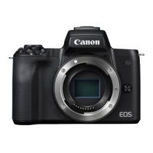 compact-digital-cameras-Canon EOS M50 (15-45+55-200 dual-lens black cover) (DIGIC 8 processor 2.4 million pixel dual-focus rotary touch screen) on JD