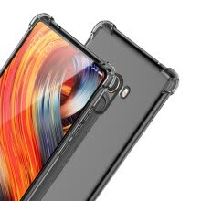 mobile-decorations-Soft Rubber TPU Anti-Scratch Shockproof Transparent Bumper Case for Xiaomi Mi MIX 2 on JD