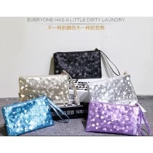-New Women Glitter Sequins Handbag Party Evening Envelope Clutch Bag Wallet Purse on JD