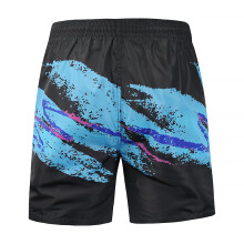 875068681-Tide brand men's casual beach pants summer new 3D graffiti printing pants casual street quick-drying swim trunks on JD