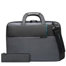 -Samsonite Laptop Case Briefcase Shoulder Bag Apple Notebook MacBook Air/Pro Sleeve Bag 14 Inch DA8*08001 Gray on JD