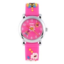 children-watches-SKMEI 1047 Childrens Lovely Design 3D Cartoon Pattern Silicone Band Wrist Watch on JD