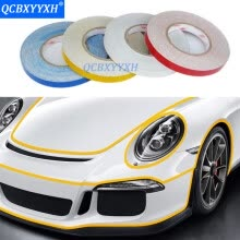 -5M*2CM Car Reflective Tape Sticker Safety Mark Car Reflector Adhesive Strip Universal Decoration Sticker on JD