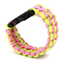 hologram-bracelets-Paracord Cord Survival Wristband Camping Hiking Bracelet Outdoor Sports Emergent on JD