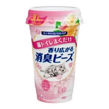 8750208-Japan imported Jiale Za (Gaines) deodorant beads Elegant flower flavor Jiale Liao cat sand dedicated 450ml on JD