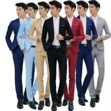 875061886-Men Wedding Suits Bridegroom Prom suits Male Blazers Jacket + Pants Trousers on JD