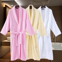 875061892-Cotton Men Bathrobe Sleepwear for Male's Nightgown Home Pajamas Robe Clothes Warm Bathrobe Dressing Robe For Men Summer Autumn on JD